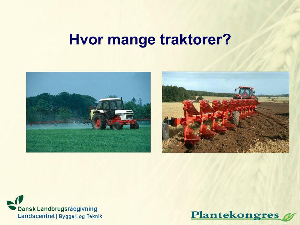 Hvor mange traktorer