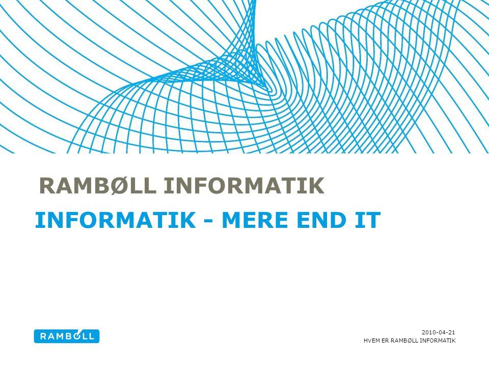 Informatik - mere end it