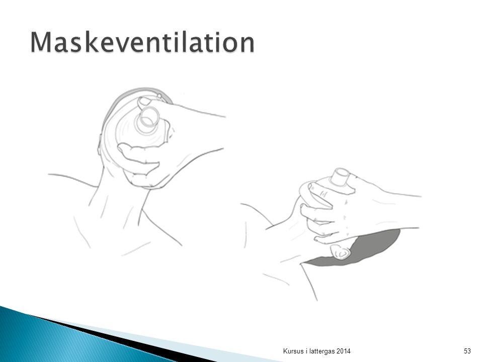 Maskeventilation
