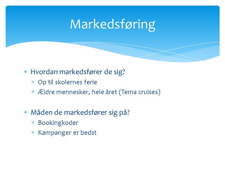 Markedsføring Hvordan markedsfører de sig
