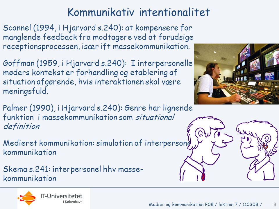 Kommunikativ intentionalitet