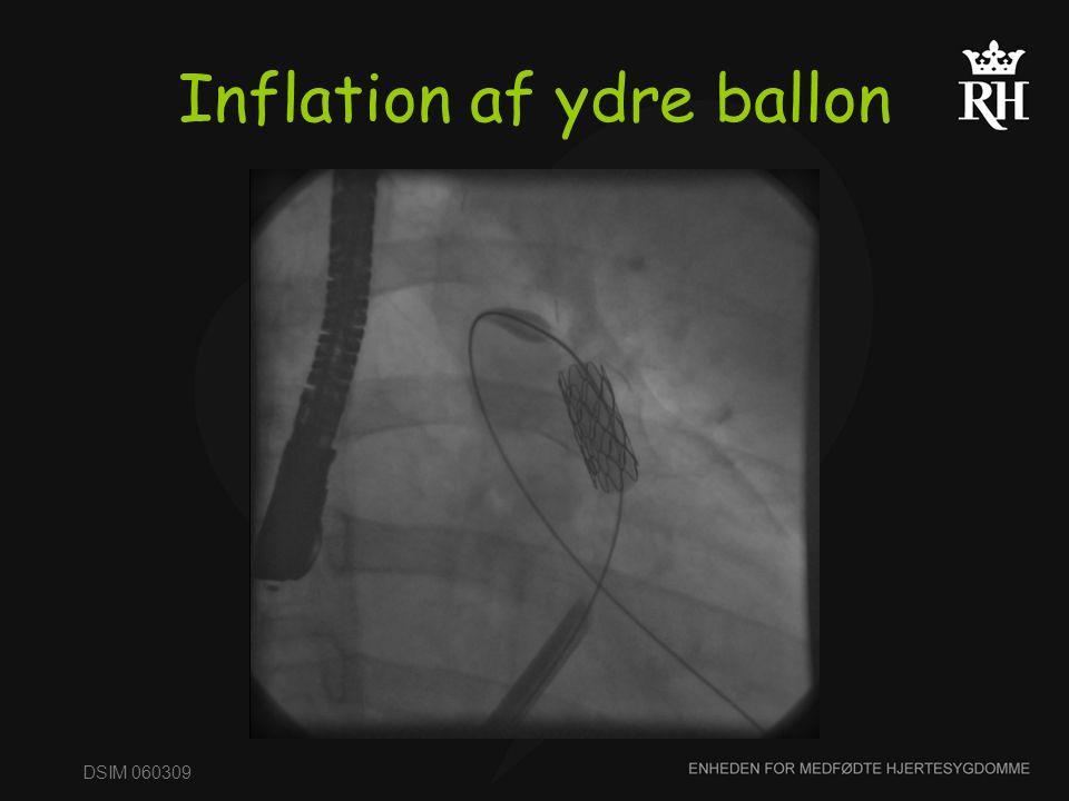 Inflation af ydre ballon