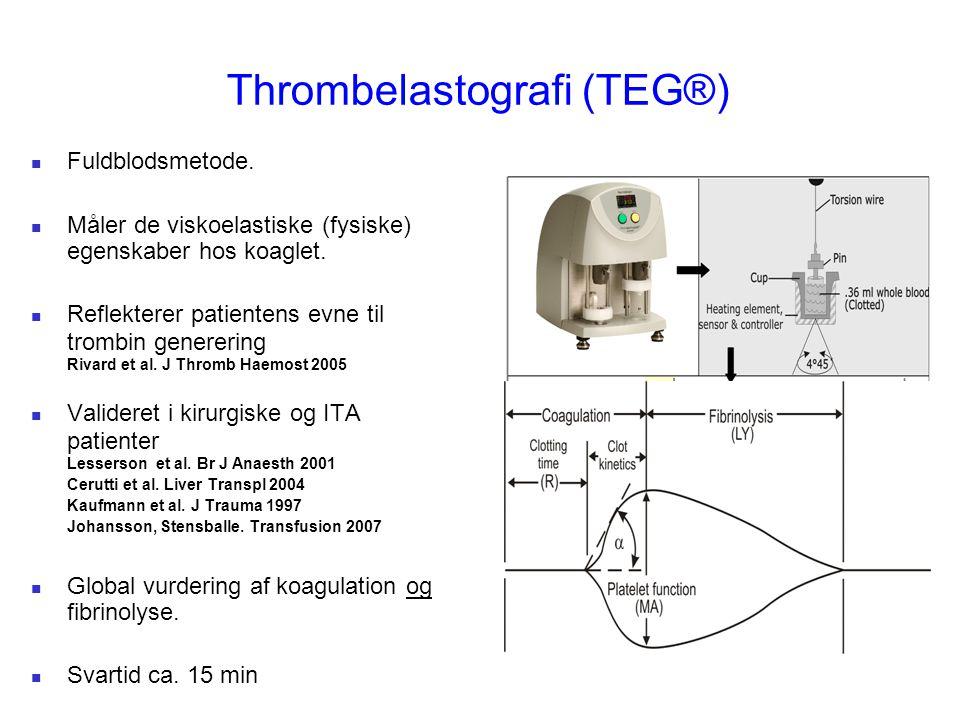 Thrombelastografi (TEG®)
