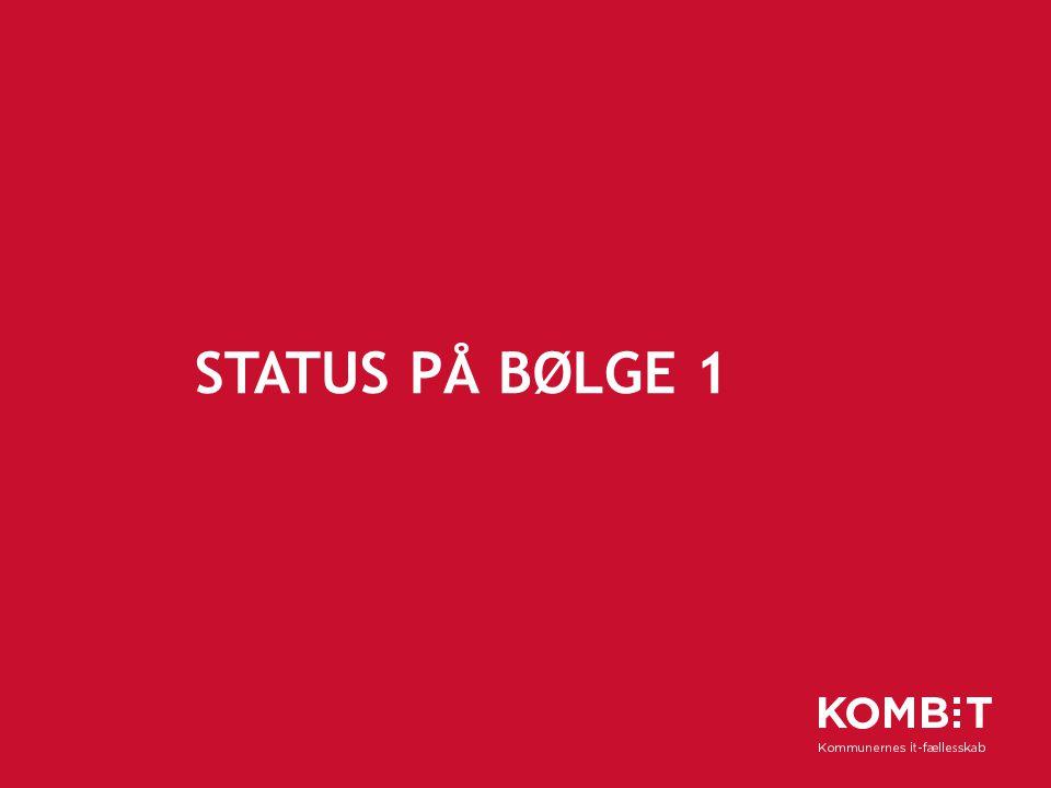 Status på bølge 1