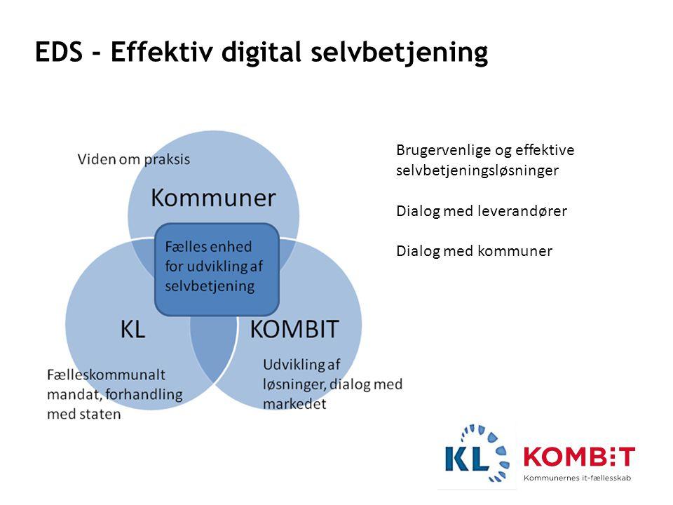 EDS - Effektiv digital selvbetjening