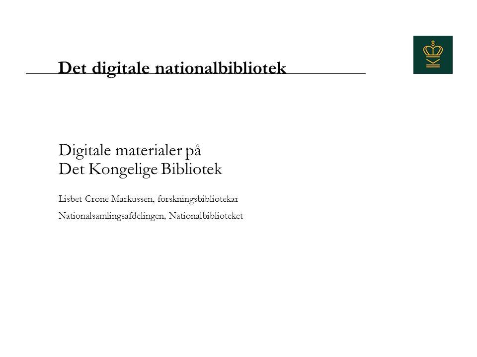 Det digitale nationalbibliotek