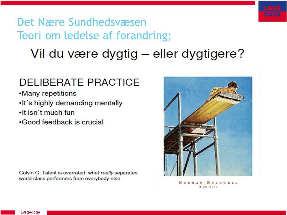 Det Nære Sundhedsvæsen Teori om ledelse af forandring;