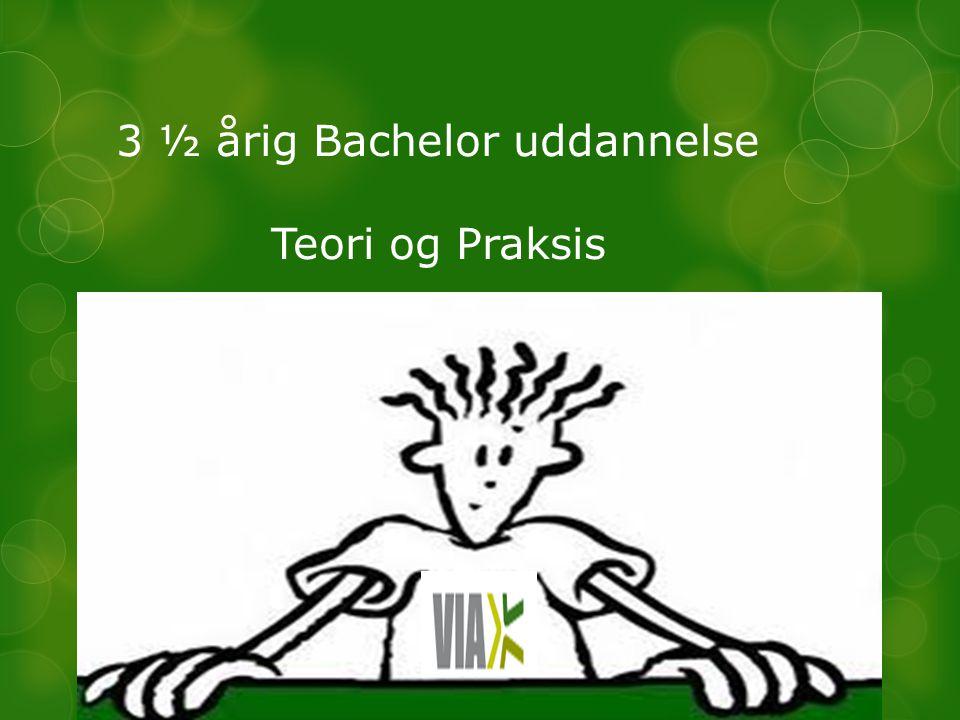 3 ½ årig Bachelor uddannelse Teori og Praksis