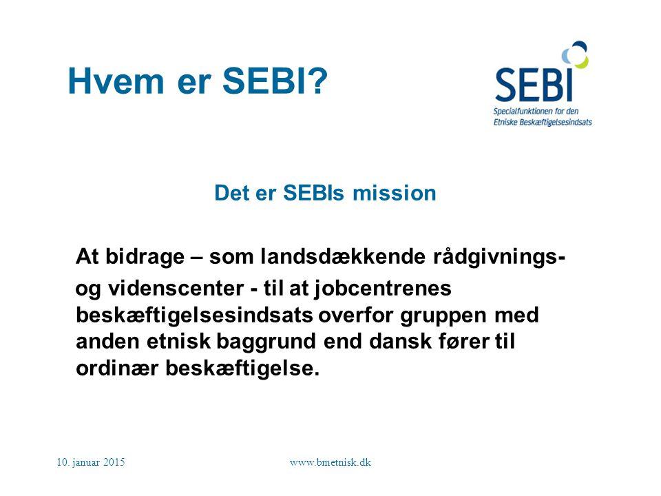 Hvem er SEBI