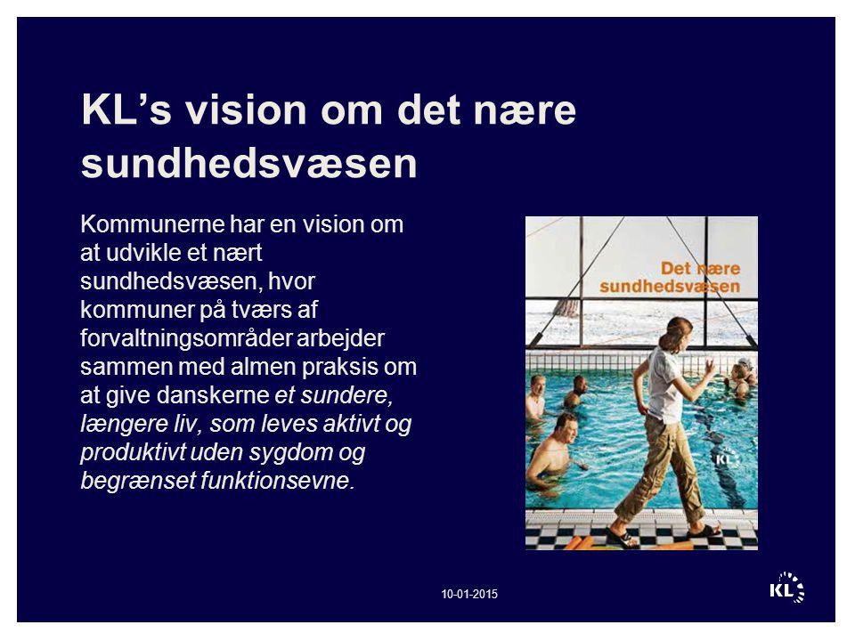 KL's vision om det nære sundhedsvæsen