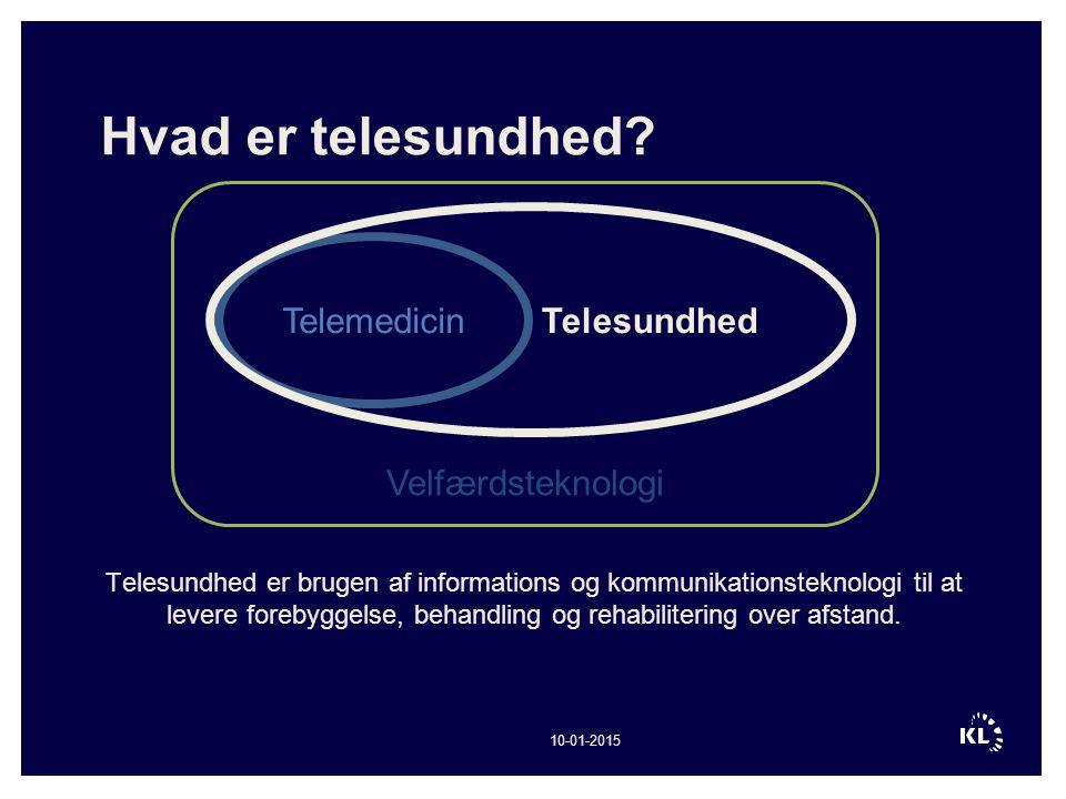 Hvad er telesundhed Telesundhed Telemedicin Velfærdsteknologi