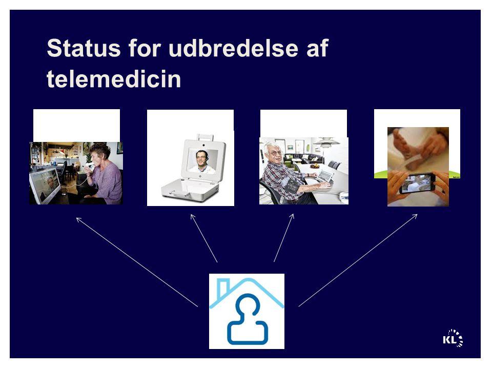 Status for udbredelse af telemedicin