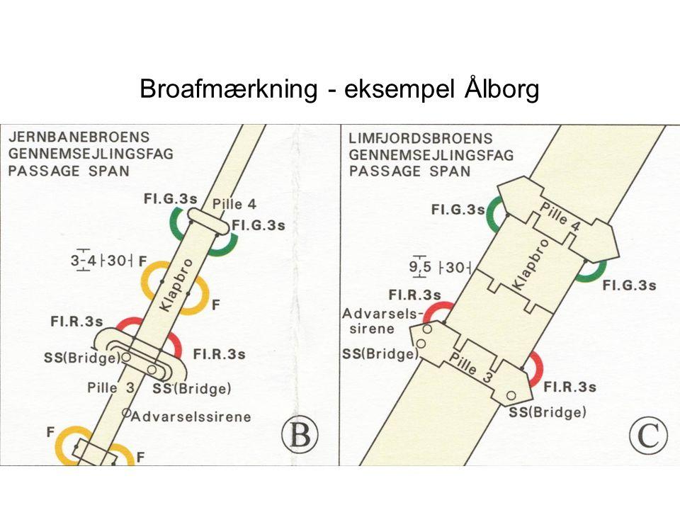Broafmærkning - eksempel Ålborg