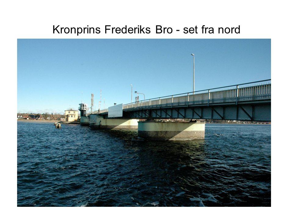 Kronprins Frederiks Bro - set fra nord