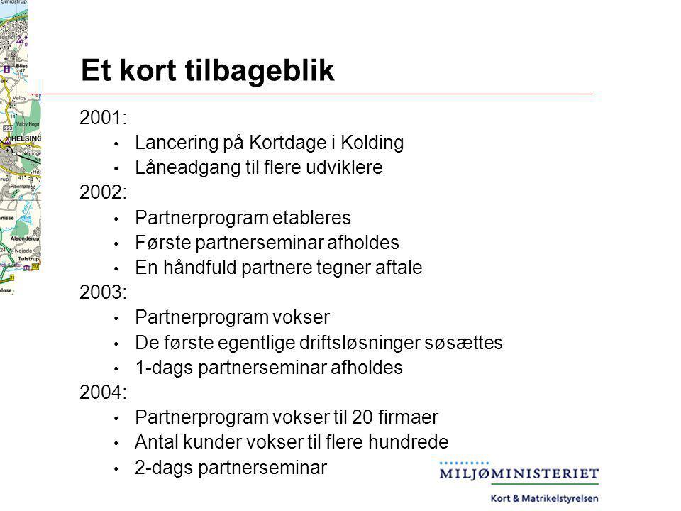 Et kort tilbageblik 2001: Lancering på Kortdage i Kolding