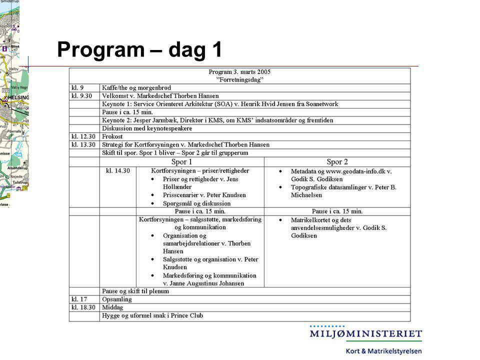 Program – dag 1