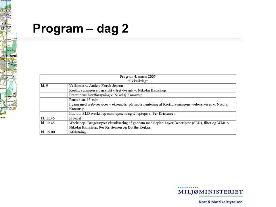 Program – dag 2