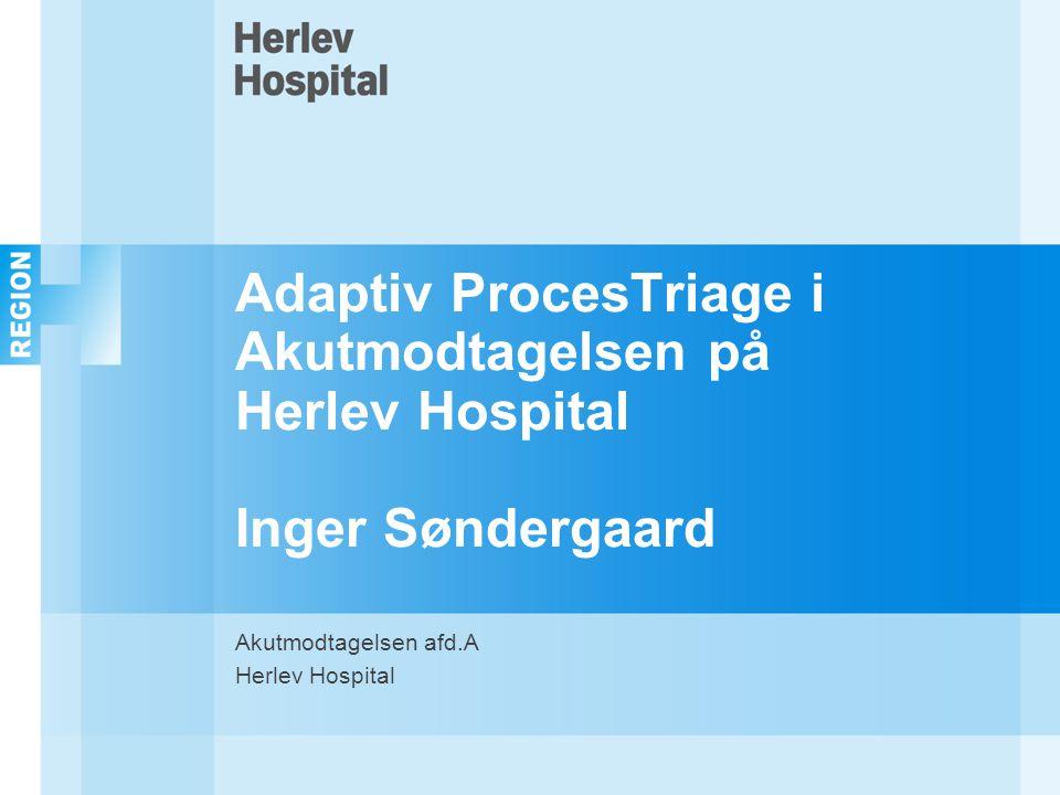 Akutmodtagelsen afd.A Herlev Hospital
