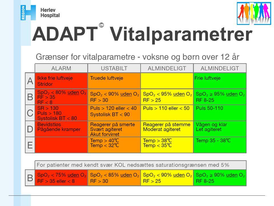ADAPT Vitalparametrer