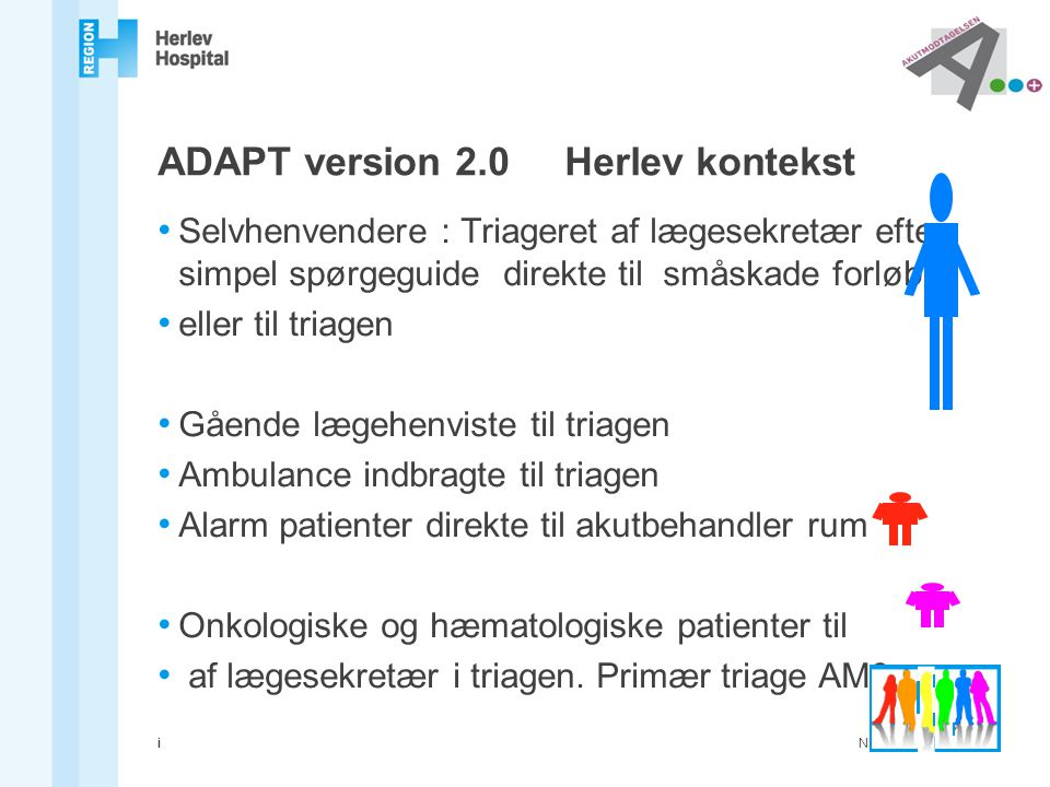 ADAPT version 2.0 Herlev kontekst