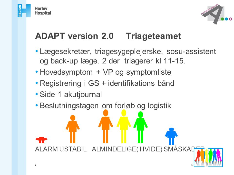 ADAPT version 2.0 Triageteamet