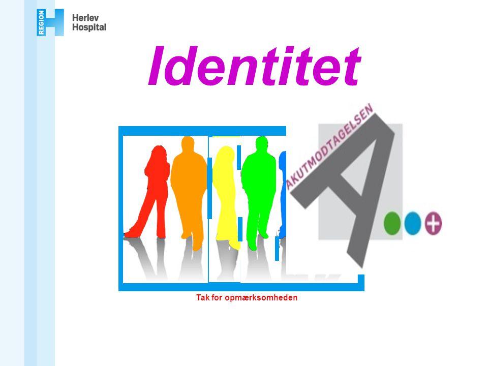 Identitet Tak for opmærksomheden