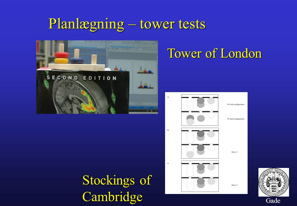 Planlægning – tower tests