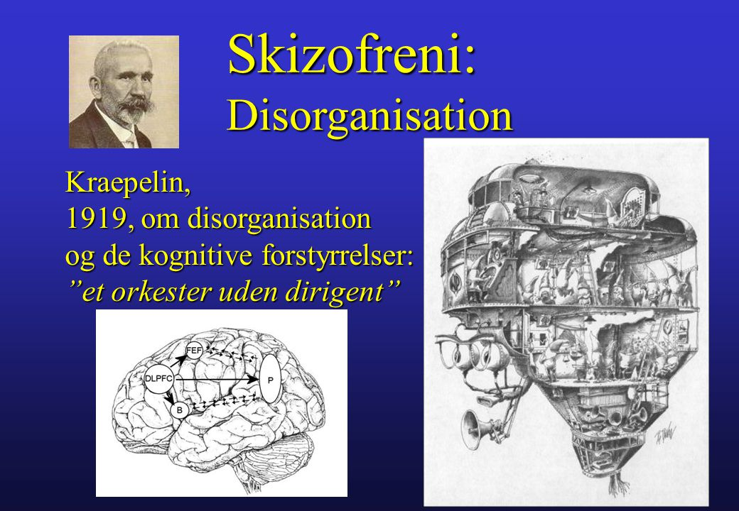 Skizofreni: Disorganisation