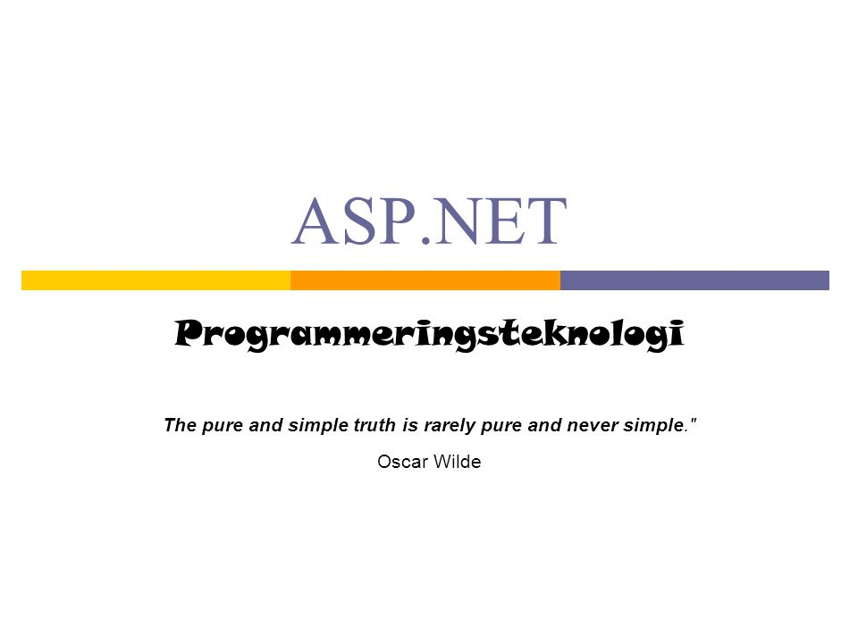 Programmeringsteknologi