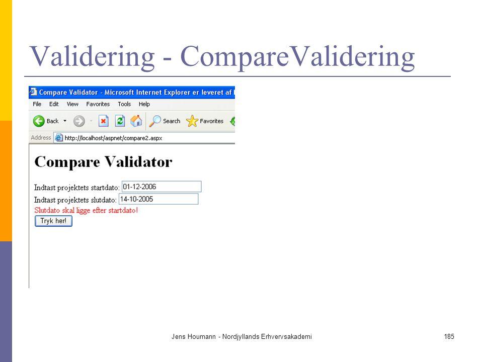 Validering - CompareValidering