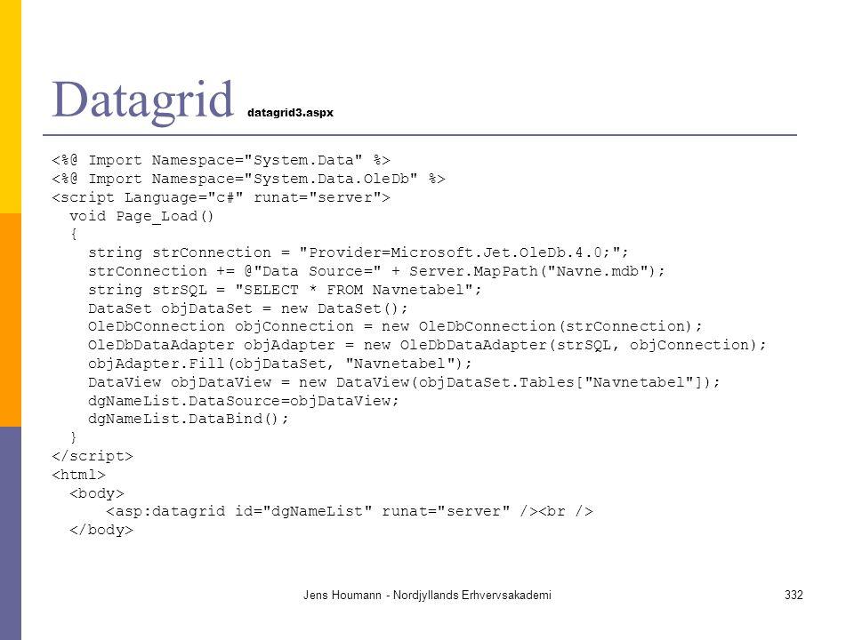 Datagrid datagrid3.aspx
