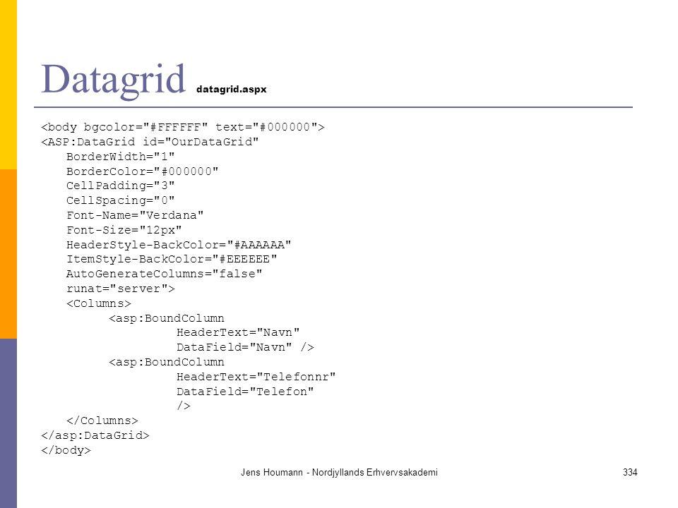 Datagrid datagrid.aspx