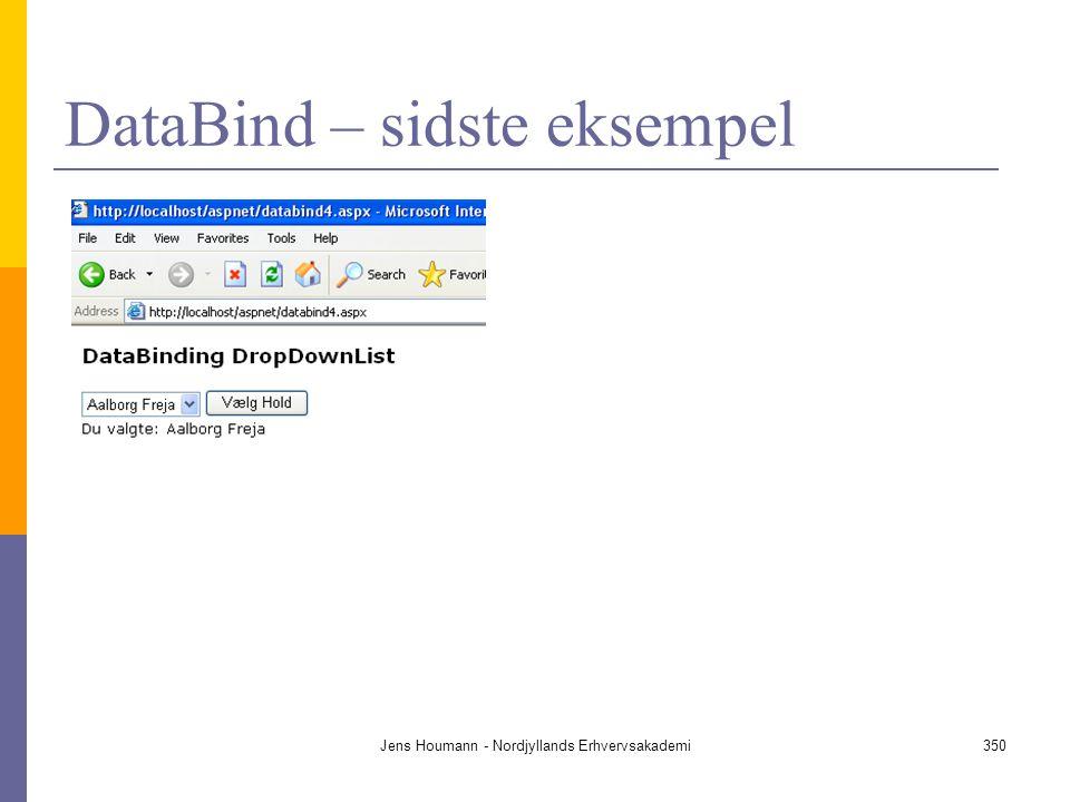 DataBind – sidste eksempel