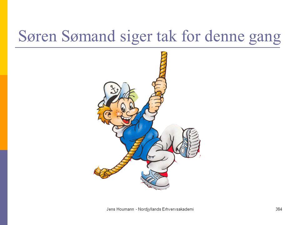 Søren Sømand siger tak for denne gang