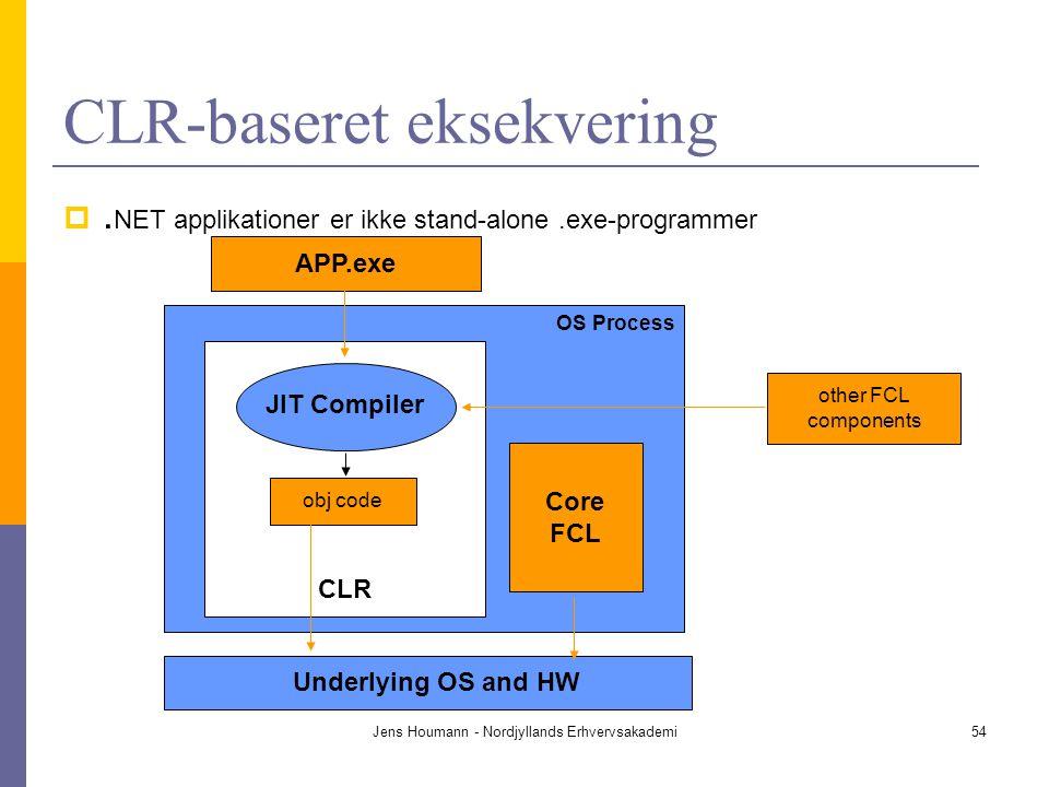 CLR-baseret eksekvering