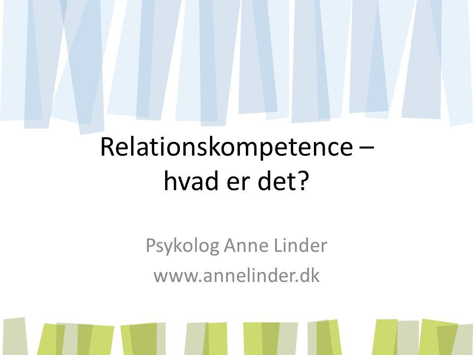 Relationskompetence – hvad er det
