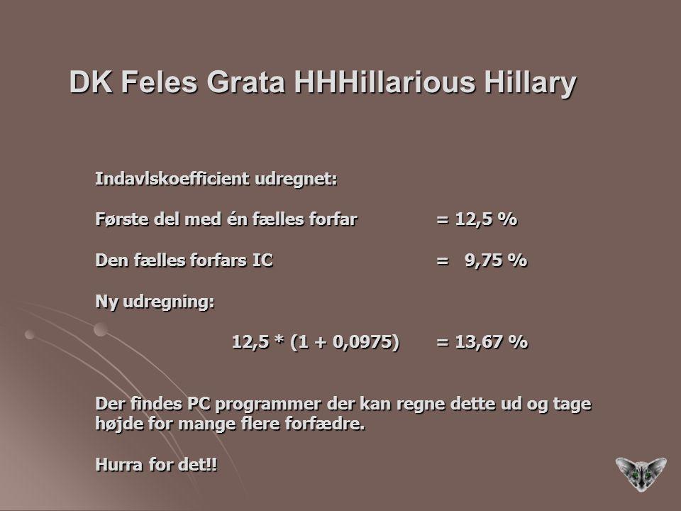 DK Feles Grata HHHillarious Hillary