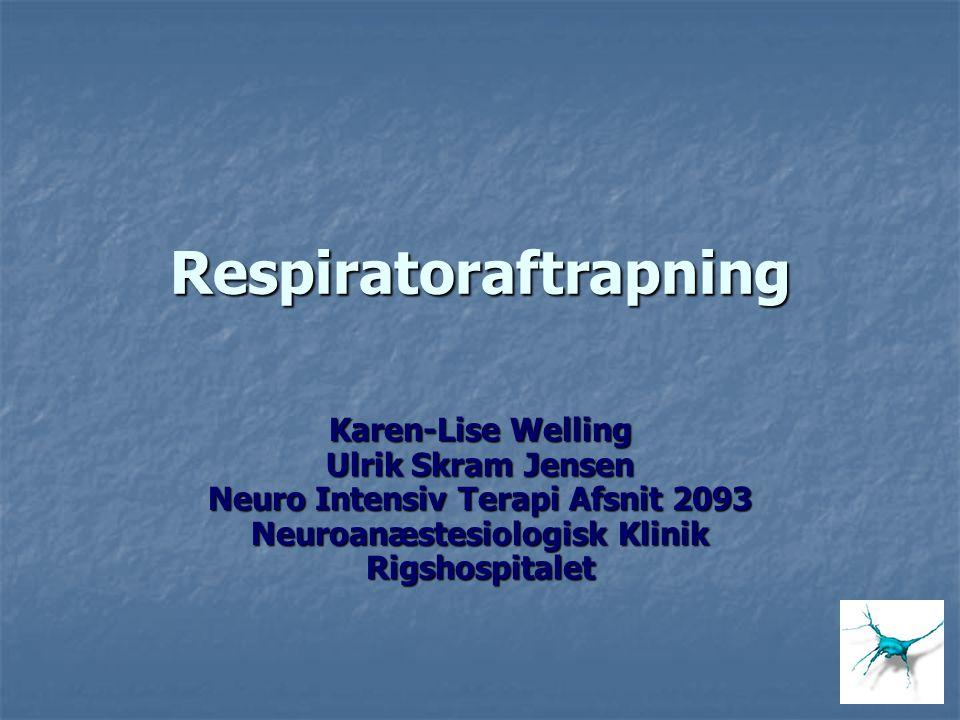 Respiratoraftrapning