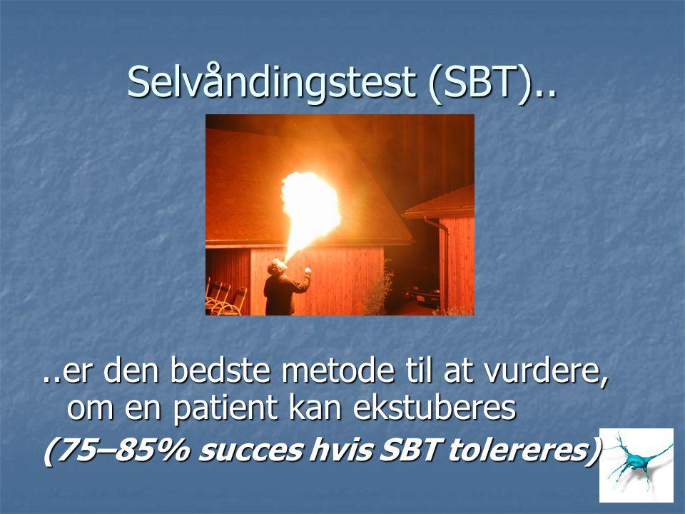 Selvåndingstest (SBT)..