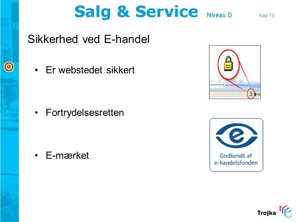 Sikkerhed ved E-handel