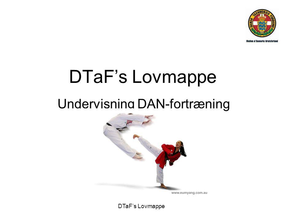 Undervisning DAN-fortræning