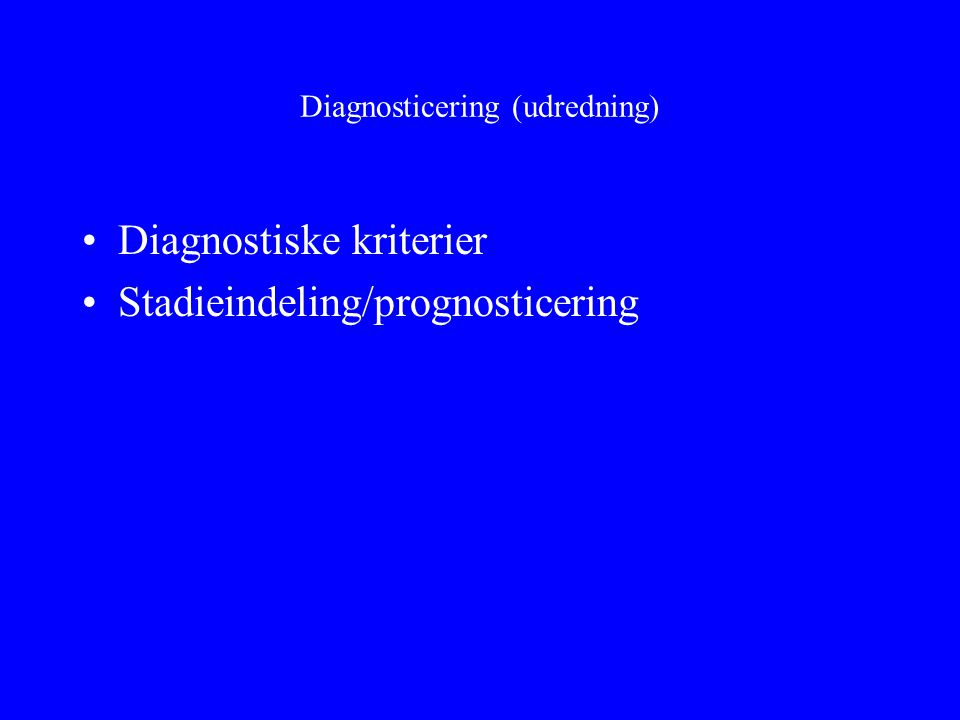 Diagnosticering (udredning)