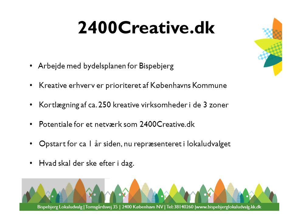 2400Creative.dk Arbejde med bydelsplanen for Bispebjerg