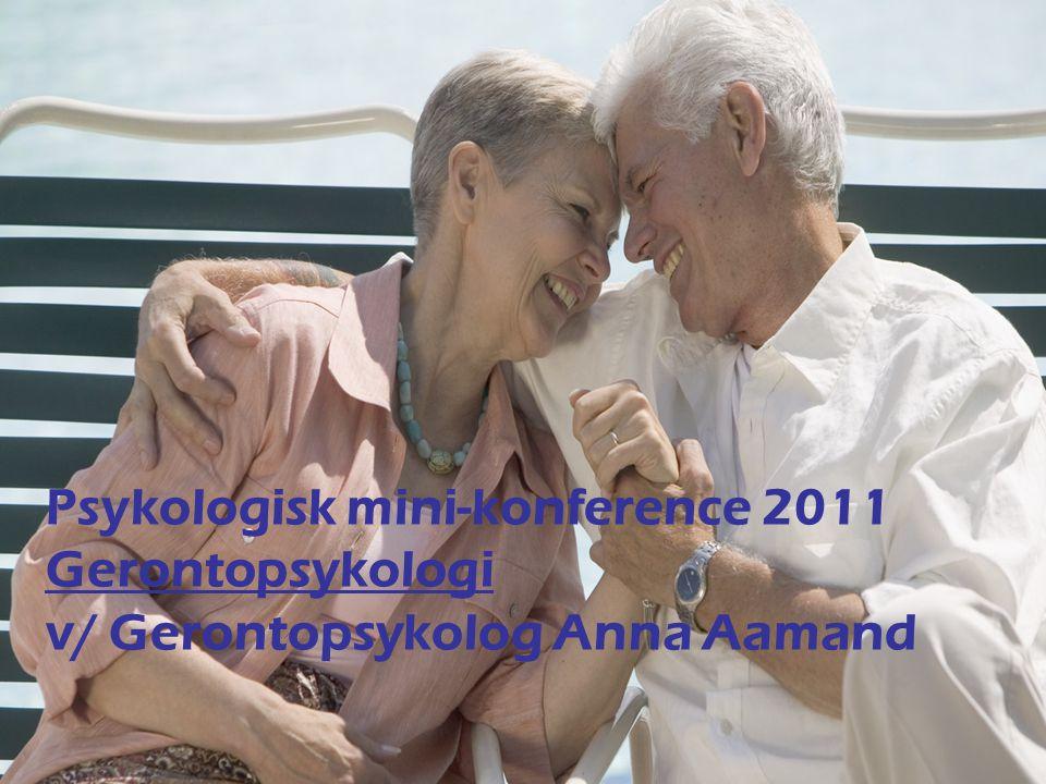 Gerontopsykolog Anna Aamand, Ældrepsykologisk Klinik, Ebeltoft