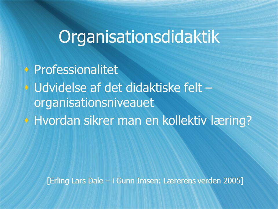 Organisationsdidaktik
