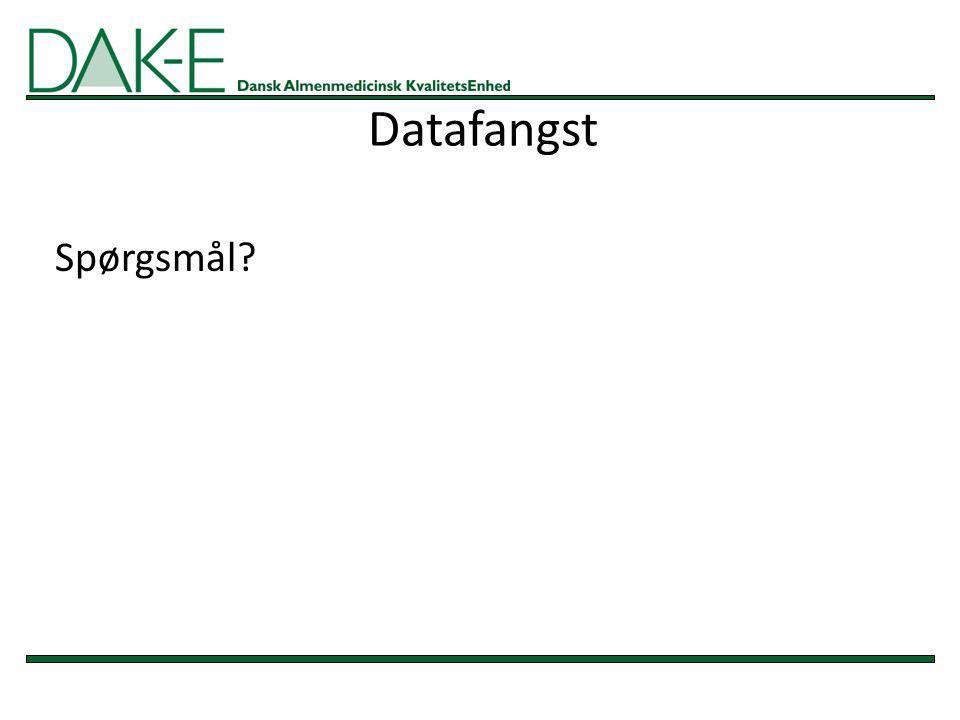 Datafangst Spørgsmål