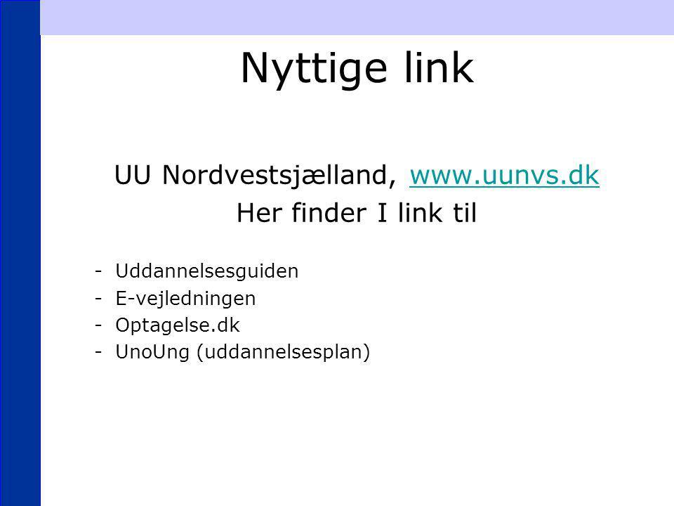 UU Nordvestsjælland, www.uunvs.dk