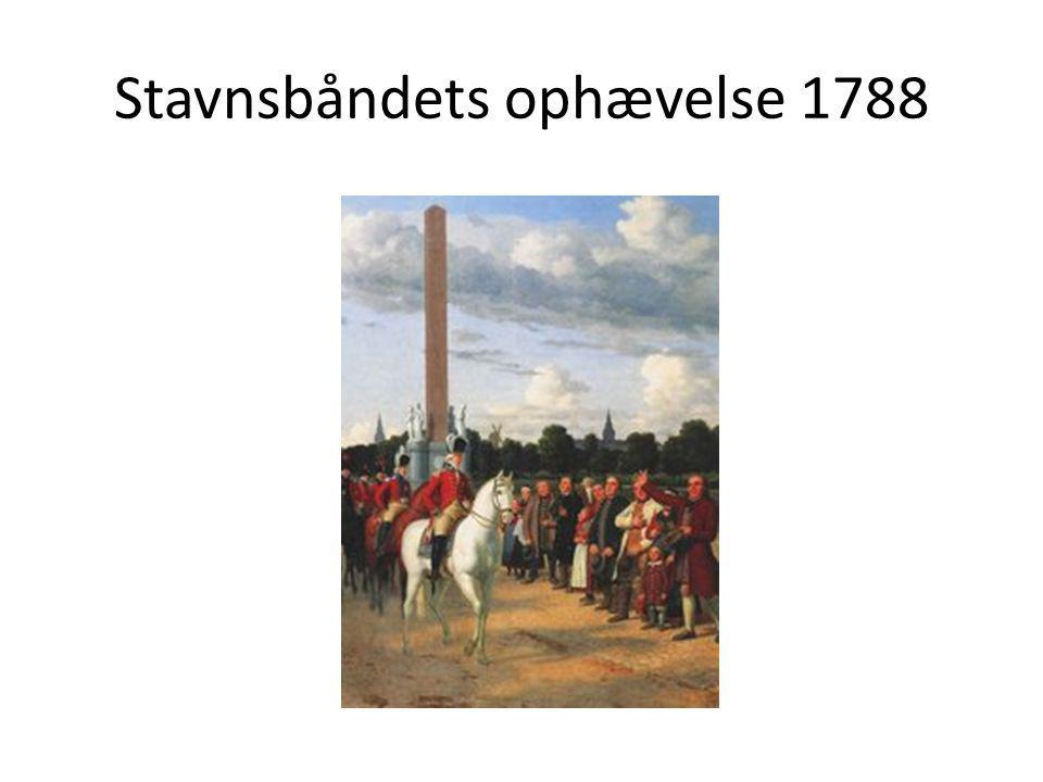 Stavnsbåndets ophævelse 1788
