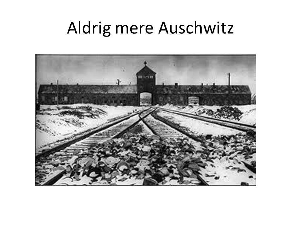 Aldrig mere Auschwitz