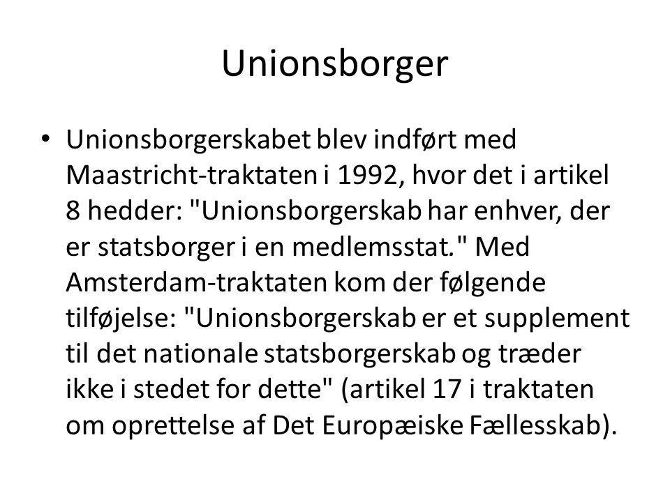 Unionsborger